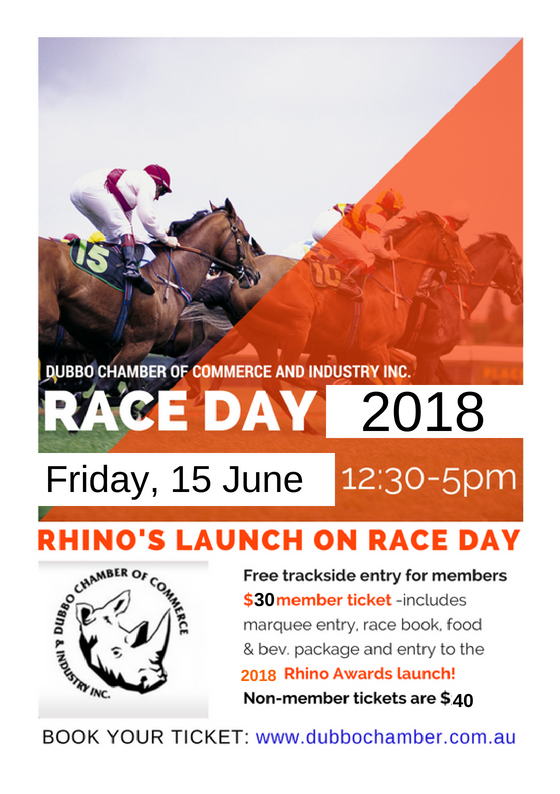2018 race day and rhino business awards official launch